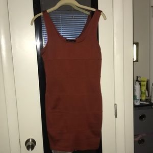 Forever 21 Rust Color Bodycon dress